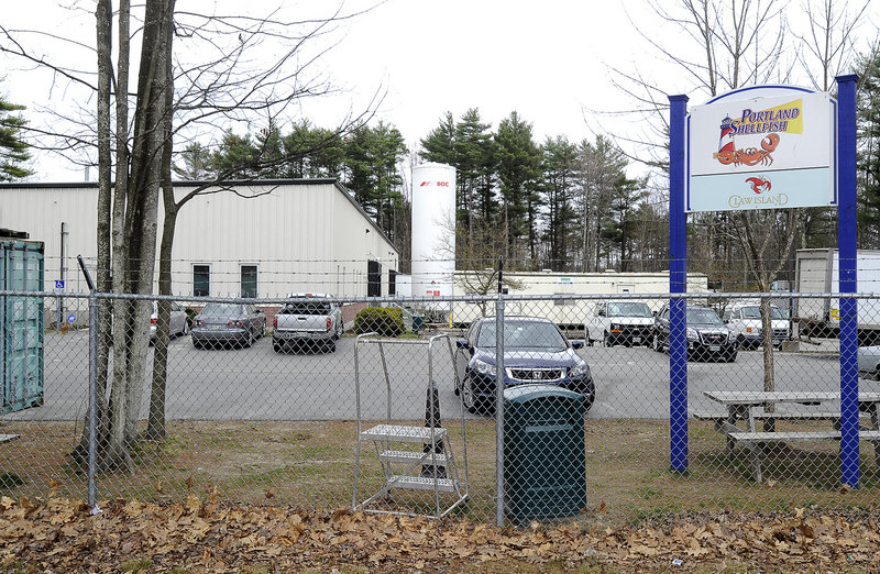 In this April 2012 file photo, the former Portland Shellfish Co., on Waldron Way. Portland schools is considering buying the processing facility for its new central kitchen.