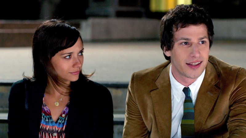 "Rashida Jones and Andy Samberg play the title roles in ""Celeste & Jesse Forever,"" a comedy about a divorcing couple trying to maintain their friendship while they both pursue other people."
