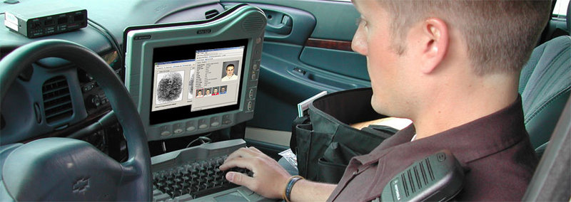 When a suspect's identification is in doubt, a deputy will take a person's picture with a smartphone or a digital camera.
