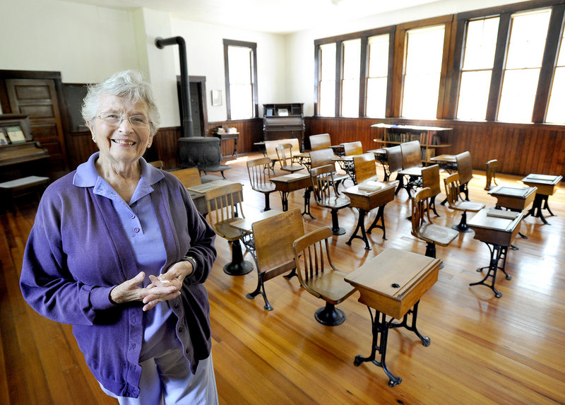 Hope Shelley, valedictorian of the Wells High School Class of 1952, attended the one-room schoolhouses in Wells Districts 3 and 4. None of the schools had electricity or running water.