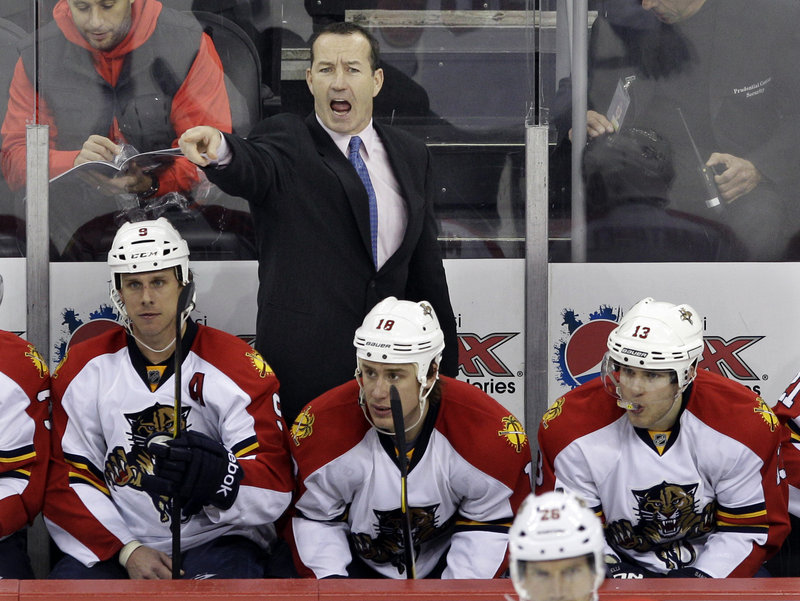 Kevin Dineen, a former coach of the Portland Pirates, had a great first season in the NHL, helping the Panthers win the Southeast Division and make the playoffs for the first time in 12 years.