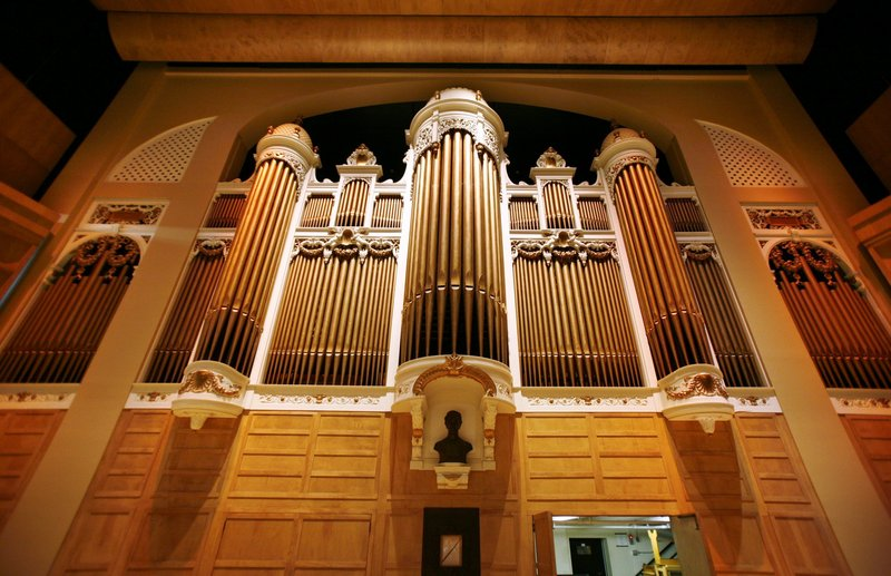 The Kotzschmar was the first municipal organ built in the country, and it is one of the last two that are still owned by cities. The other is in San Diego.
