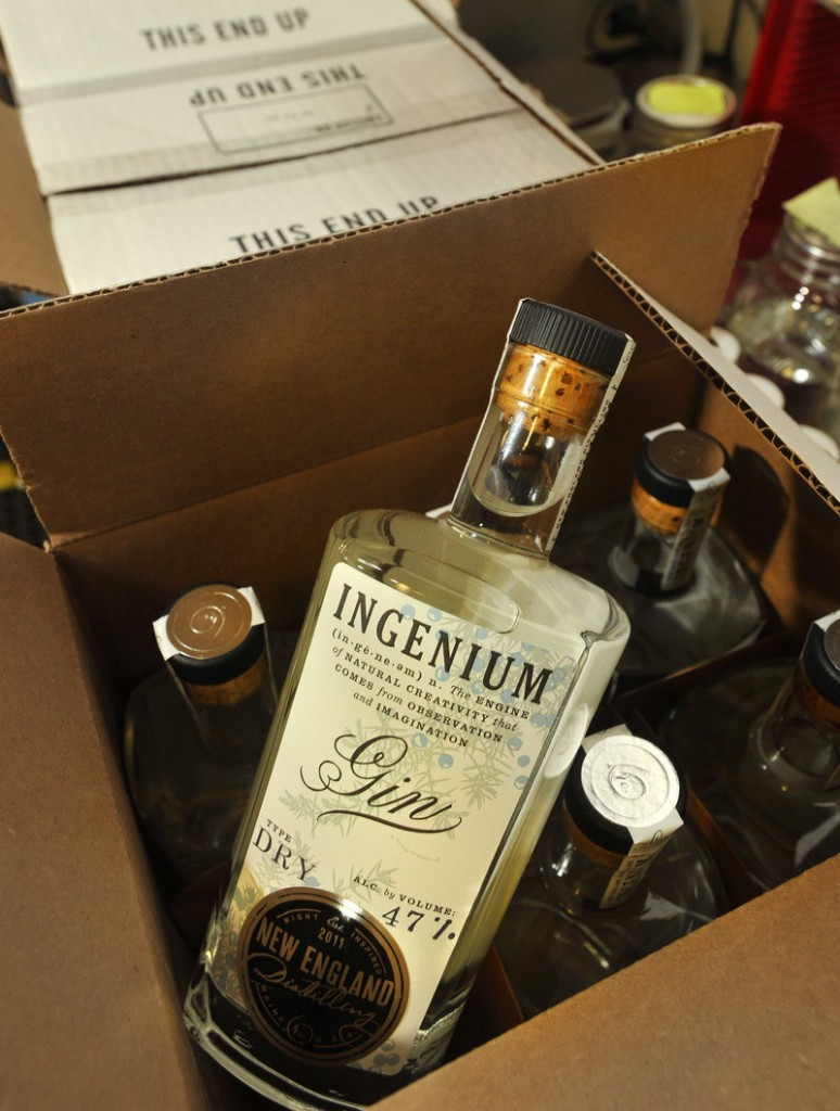 New England Distilling's gin, called Ingenium.