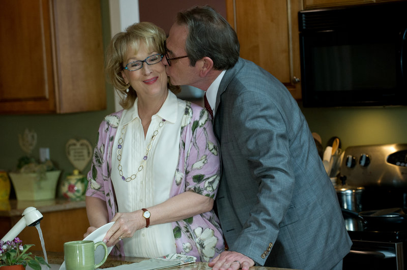 "Meryl Streep and Tommy Lee Jones find the funny and the serious in ""Hope Springs."""