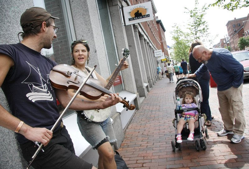 Commercial Street reflects some of Portland's strengths that land it on best-of lists: friendly to the arts, entrepreneurs, business and families.