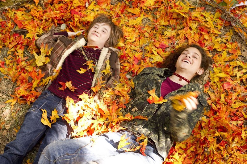 "Timothy Green (CJ Adams) and Joni Jerome (Odeya Rush) form a special bond in ""The Odd Life of Timothy Green."""