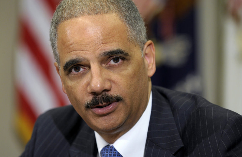 "Attorney General Eric Holder was held in civil and criminal contempt of Congress for failing to turn over documents and to allow witnesses to testify about the bungled ""Fast and Furious"" gun-tracking operation."