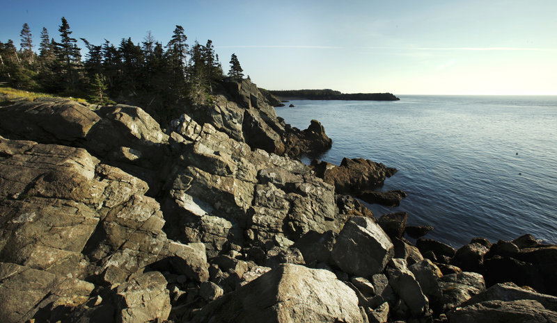 Liberty Point is among the spots on the island that offer sweeping views of Passamaquoddy Bay, West Quoddy Head and the cliffs of Grand Manan.