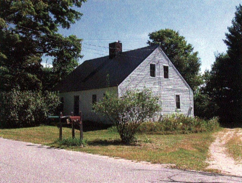 Marvin and Ruby Beckwith bought this early 19th century house and 17 acres on Baston Road in North Yarmouth in 1943. The Yarmouth Water District faces fines after district officials bought the property this summer and tore down the house.