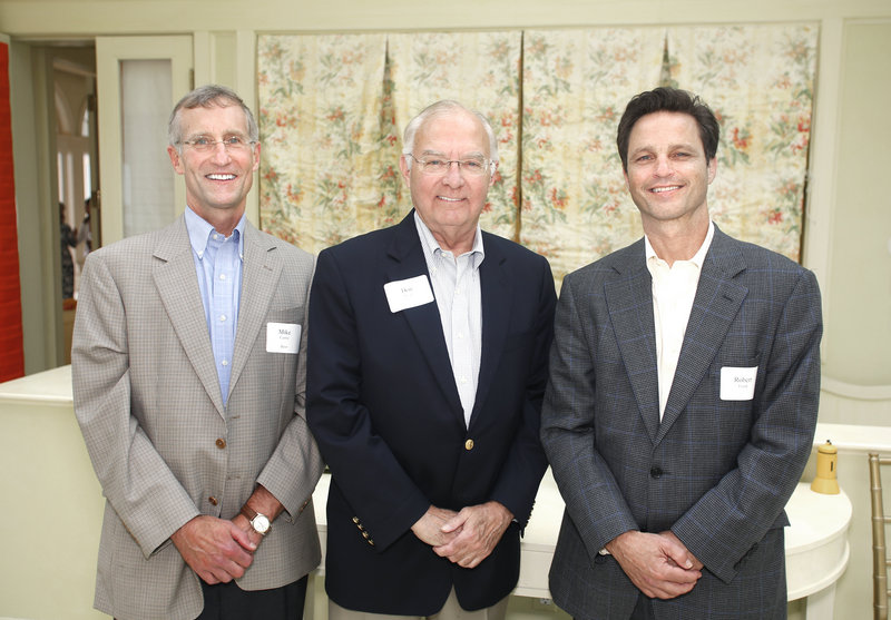 Mike Currie of Falmouth, Don Head of Cape Elizabeth and Robert Frank of Falmouth.