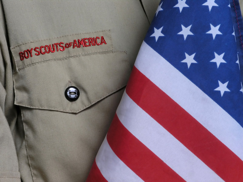 A letter writer, disagreeing with columnist M.D. Harmon, says conflicts can arise from believing in Scout values.