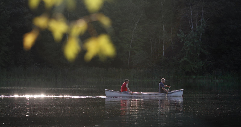 The Androscoggin River was once so unappealing that, a ski shop operator in Jay estimates, maybe 1 percent of the people living along it had ever been on the river. But that's changing, and in a hurry. Peace, serenity and the wonders of nature now attract paddlers.