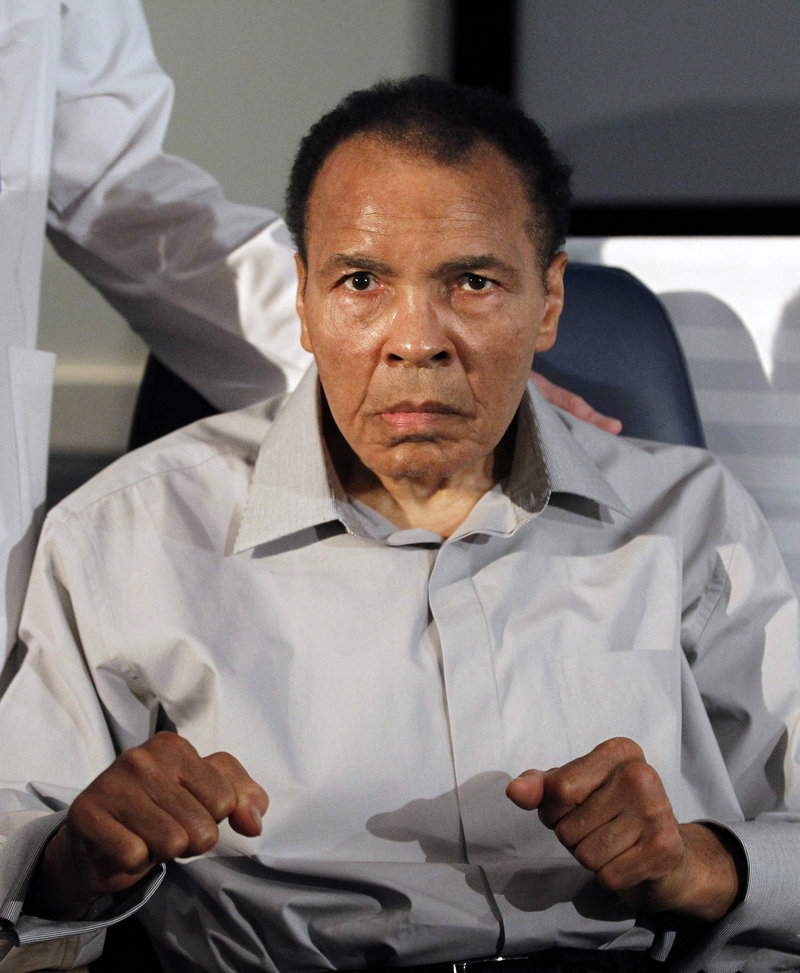 Three-time world heavyweight champion Muhammad Ali remains one of the most recognizable figures on the planet, even though his public appearances have become sporadic as he fights Parkinson's disease.