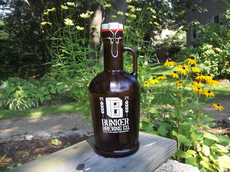A Bunker Brewing growler costs $25 – $15 for the container and a discounted price of $10 for the contents. Refills will be $12 for most beers.