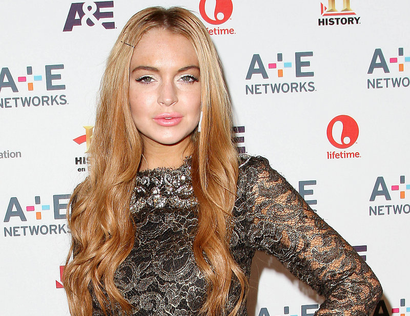 Actress Lindsay Lohan, shown in May, won't be prosecuted for the theft of items from a home where she was staying as a guest, due to lack of evidence.