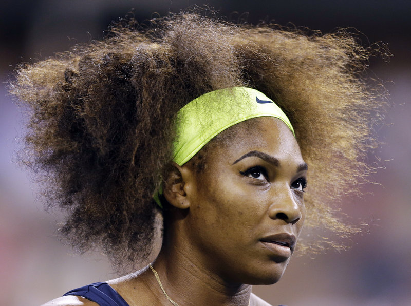 Serena Williams got started on her quest for a 15th Grand Slam title with a 6-1, 6-1 win against CoCo Vandeweghe at the U.S. Open tennis tournament on Tuesday.