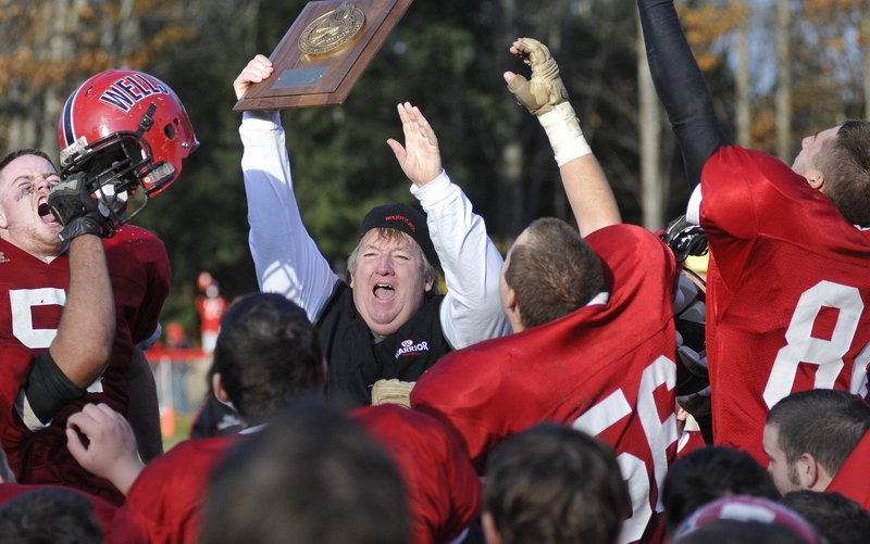 Wells Coach Tim Roche and his players did a lot of celebrating last season, beating Mountain Valley to win Western Class B, then defeating Leavitt in the state final. The Warriors figure to threaten again this year despite only three returning starters, but will face stiff competition.