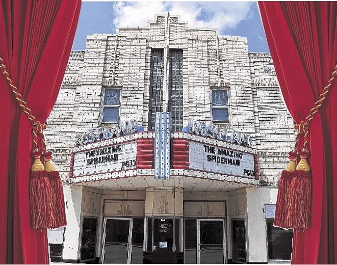 The Roseland in Pana, Ill., is an art-moderne landmark that has almost twice the seating capacity of any theater in St. Louis, in a town with fewer than 6,000 people. Its owner isn't sure whether he'll convert it to the expensive new technology that is replacing traditional reels.