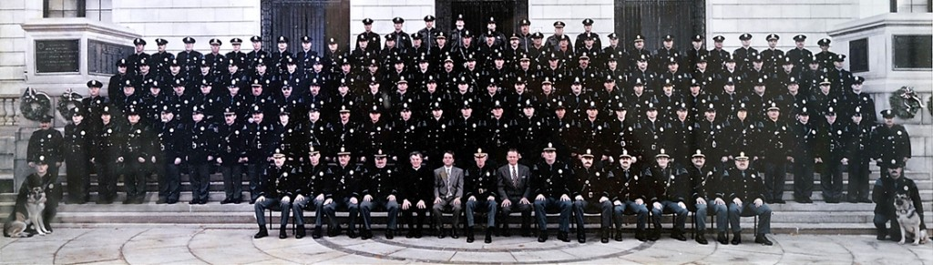 Portland police group shot from the 1990s.