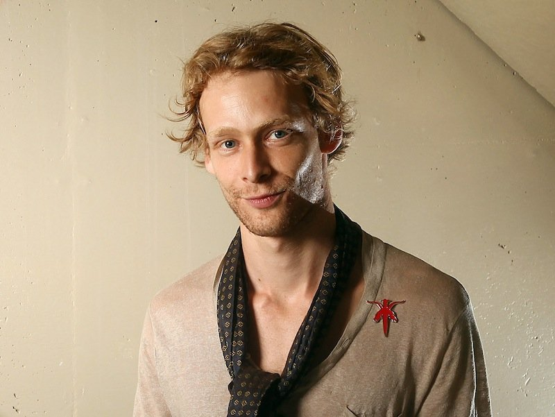 Actor Johnny Lewis poses for a portrait during the 36th Toronto International Film Festival on Wednesday, Sept. 14 in Toronto, Canada. (AP Photo/Carlo Allegri)
