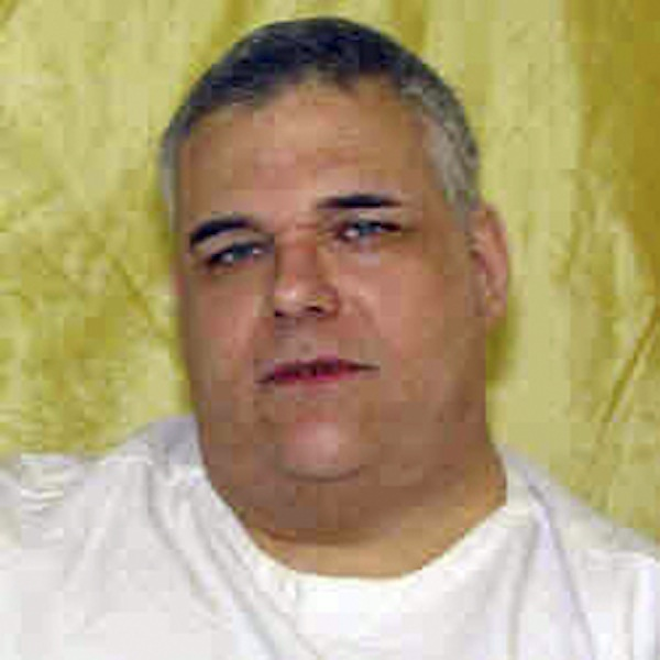 This undated photo provided by the Ohio Dept. of Rehabilitation and Corrections shows death row inmate Ronald Post. Post, 53, scheduled to die Jan. 16, 2013, for the 1983 shooting death of hotel desk clerk, wants his upcoming execution delayed. At 480 pounds, Post says he's too heavy for the state's lethal injection process. (AP Photo/Ohio Dept. of Rehabilitation and Corrections)