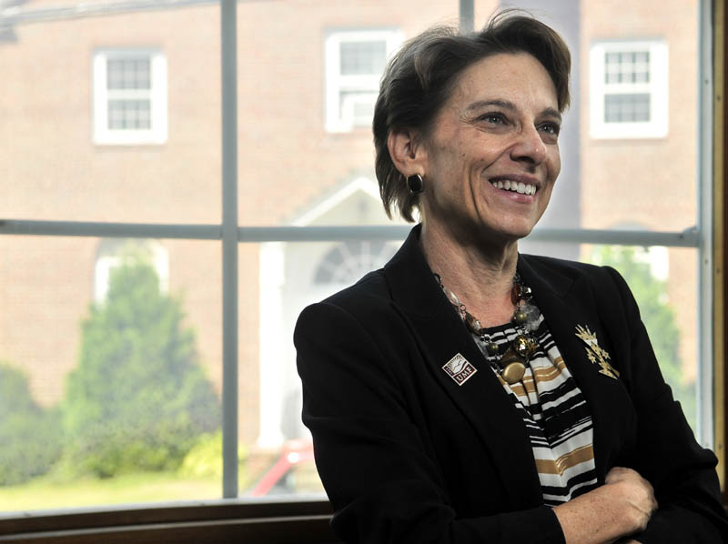 Kathryn Foster is the new president of the University of Maine at Farmington.
