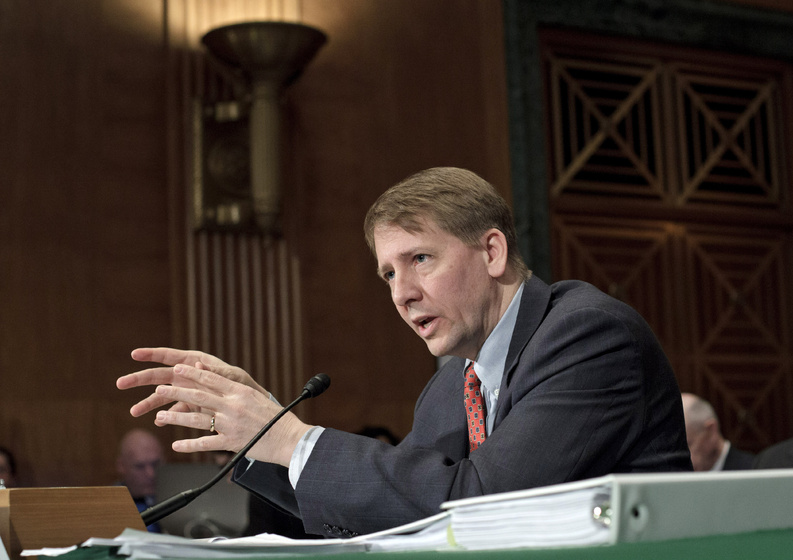 Director Richard Cordray and the Consumer Financial Protection Bureau have launched dozens of investigations and issued more than 100 subpoenas while overseeing credit card lenders, for-profit colleges, mortgage servicers and others.