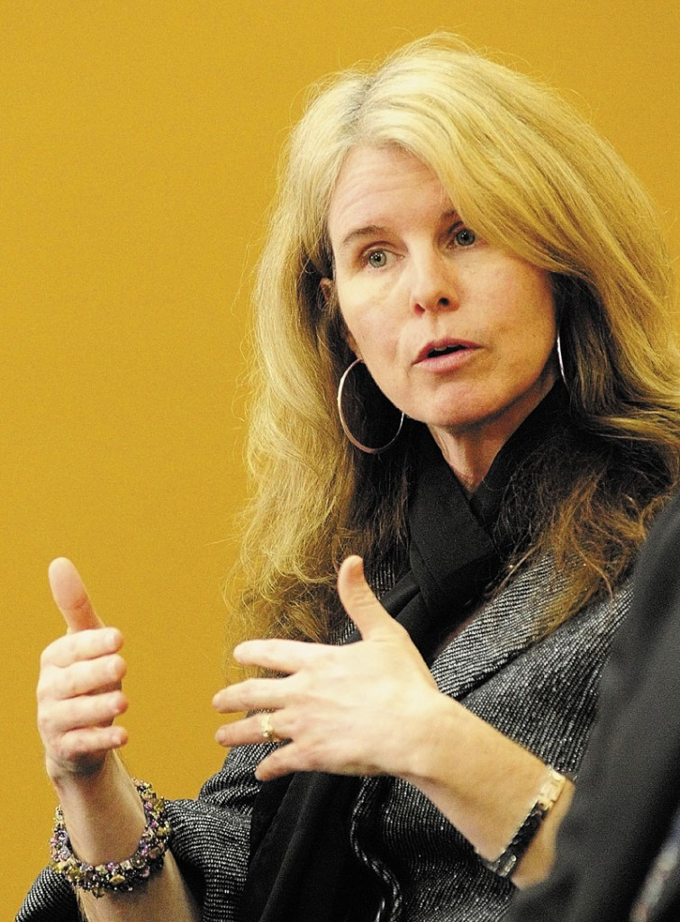 Mary Mayhew, commissioner of Maine's Department of Health and Human Services