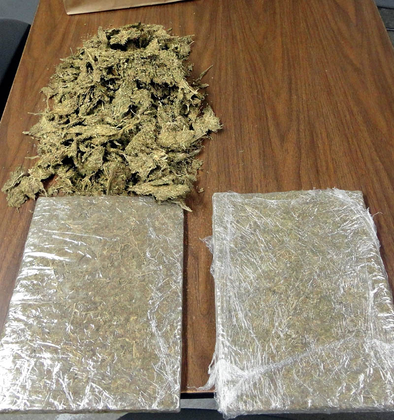 Marijuana allegedly confiscated from Adam Bajpai.