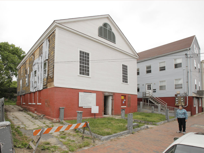 The Abyssinian Meeting House on Munjoy Hill is being preserved, but made the Greater Portland Landmarks list due to the high cost of the project.