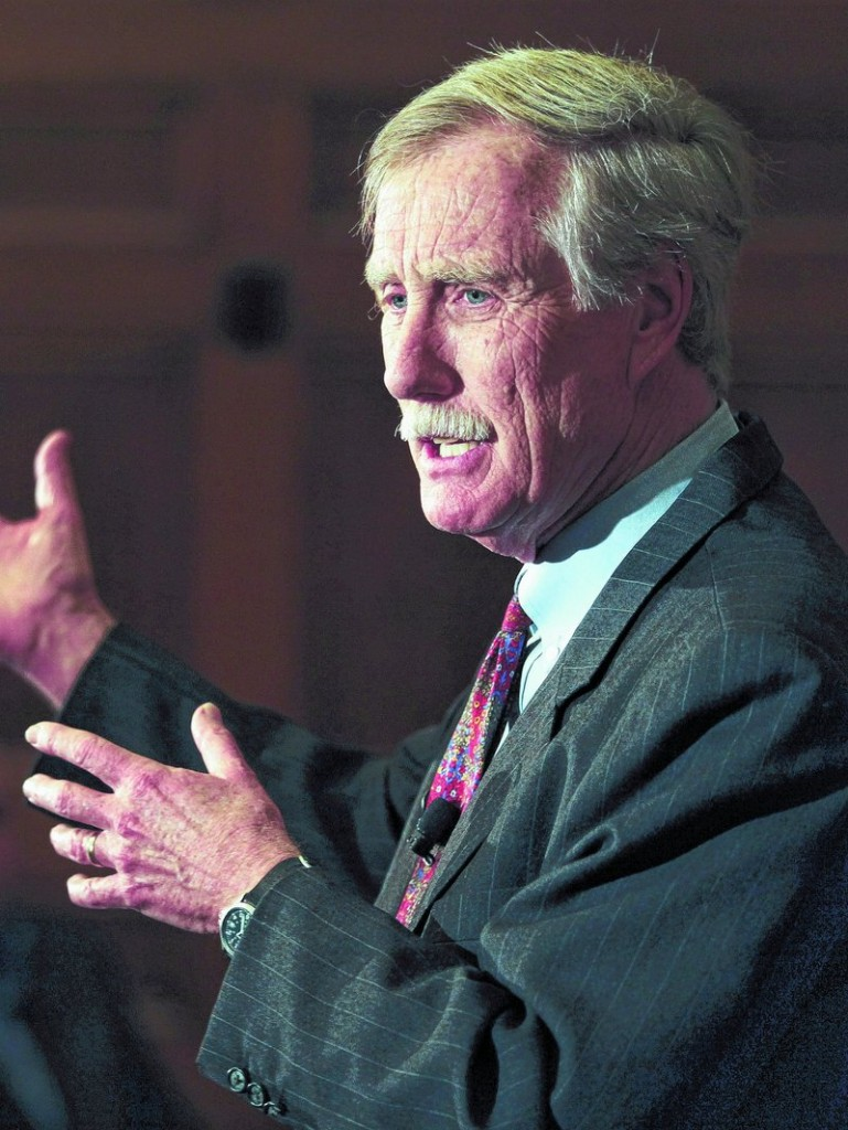 Independent Maine U.S. Senate candidate Angus King