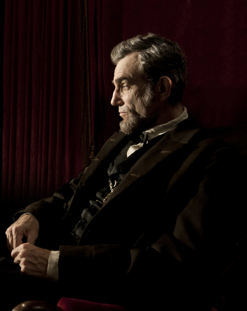 "Daniel-Day Lewis as Abraham Lincoln in ""Lincoln,"" directed by Steven Spielberg."