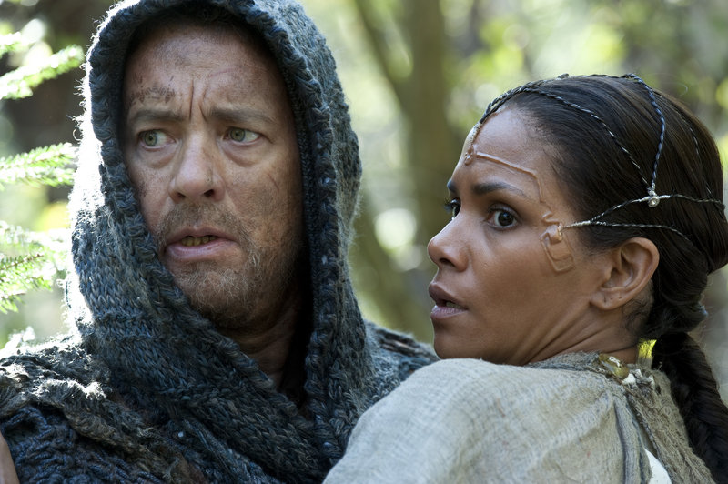 "Tom Hanks and Halle Berry in ""Cloud Atlas."""