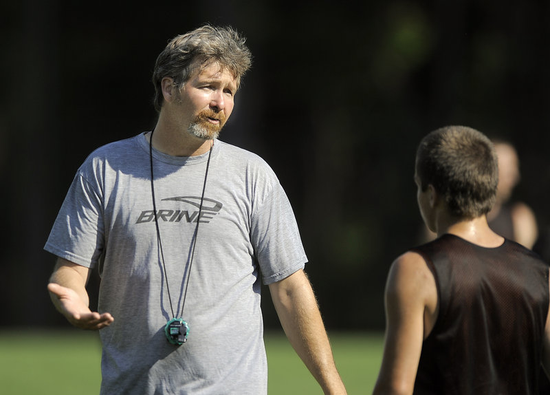 Mark Roma has been entrusted with the task of leading a Brunswick boys' soccer program that has had only one other head coach in its 39-year history.