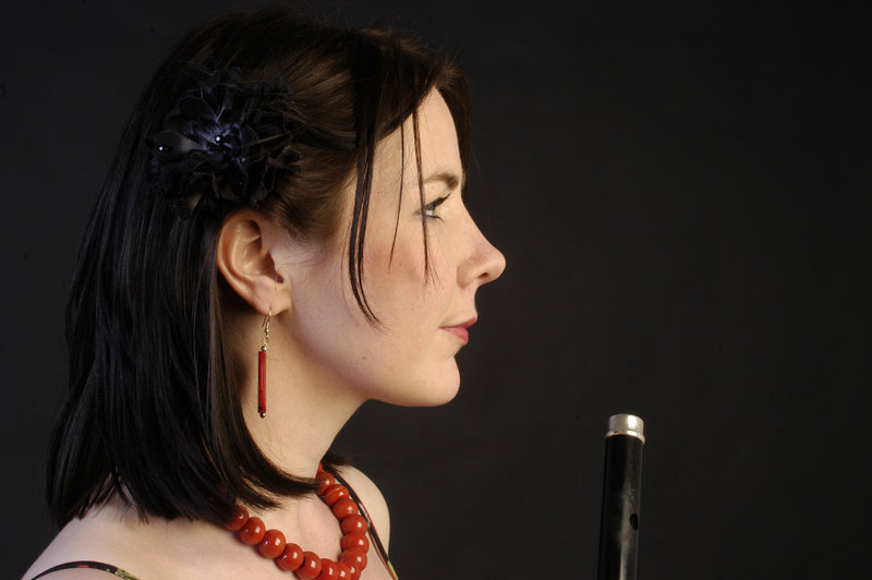 Irish vocalist and flutist Nuala Kennedy has three appearances in Maine this week: Wednesday in South Carthage, Thursday in Unity and Friday in Brownfield.