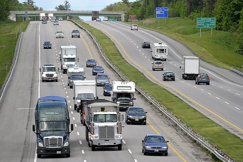 From May through the end of July, traffic at the York toll plaza was up 1.3 percent over last year, an official said.