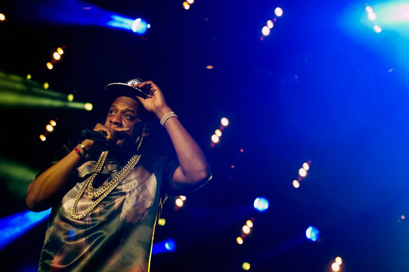 "Entertainer and music mogul Jay-Z performs at the ""Made In America"" festival in Philadelphia on Saturday."