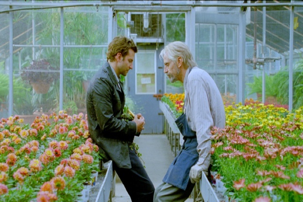 "Bradley Cooper and Jeremy Irons in ""The Words."""