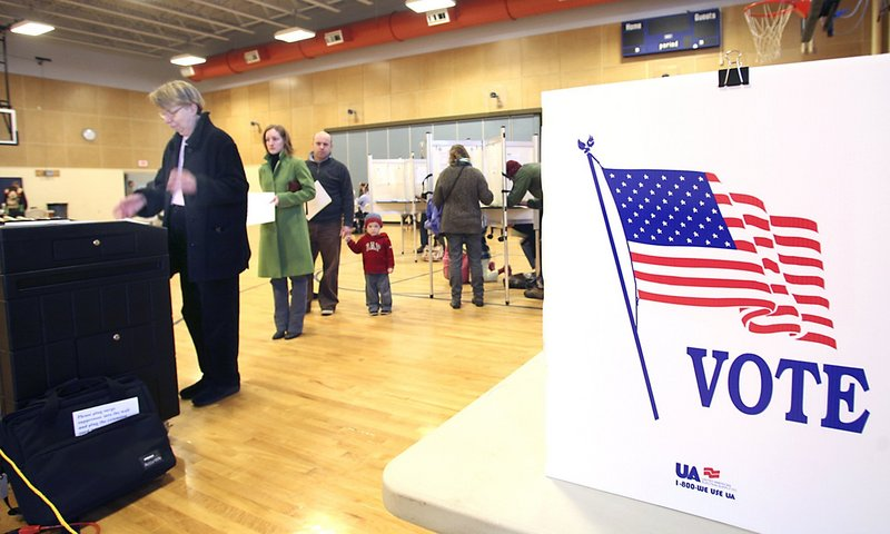 "A voter casts her ballot in Portland on Nov. 3, 2009. A reader who describes voting as ""the purest essence of our democracy"" says she was disappointed that she didn't get to speak at a hearing last week in Portland by the Commission to Study the Conduct of Elections in Maine."