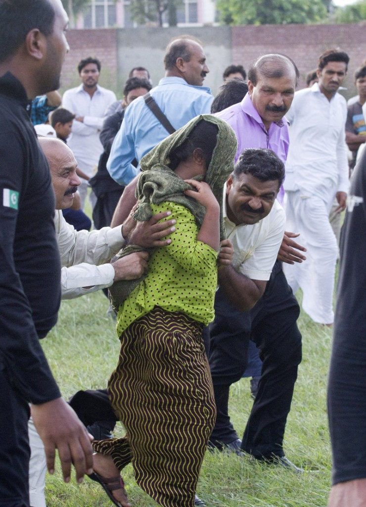 A Christian girl accused of blasphemy is freed from prison Saturday in Rawalpindi, Pakistan.