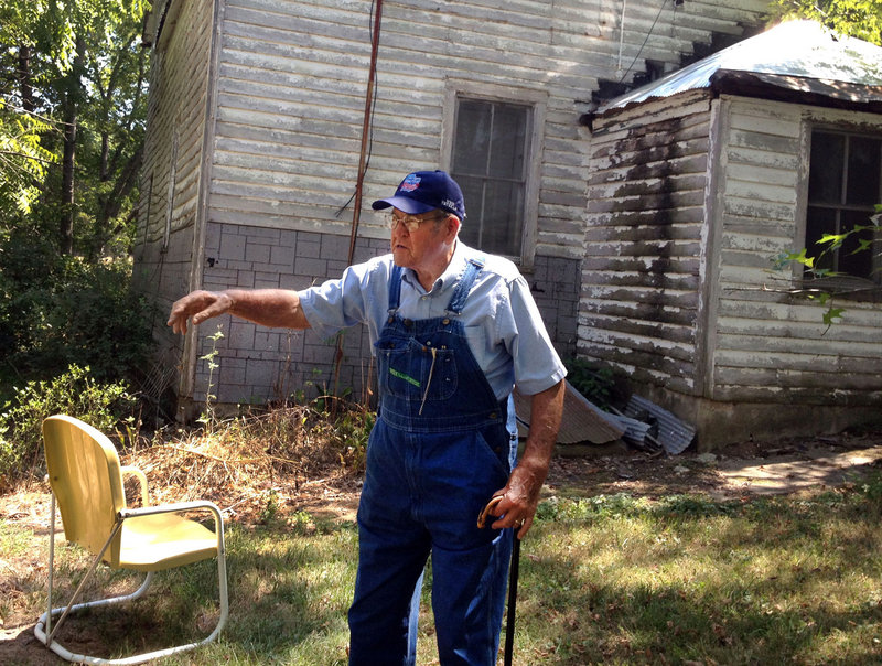 """Difficulties faced by farmers during this summer's drought pale in comparison to those of the Dust Bowl of the 1930s, says farmer Anthony """"Tony"""" Klott, 85, of Hermann, Mo. """"You have a lot better chance now than you did back then,"""" he said."""