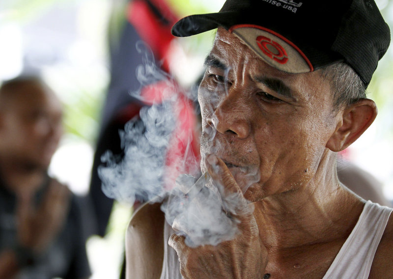 "A survey found that 67 percent of Indonesian males over age 15 smoke, but only 3 percent of women. ""We have failed in protecting our people,"" said the health minister."