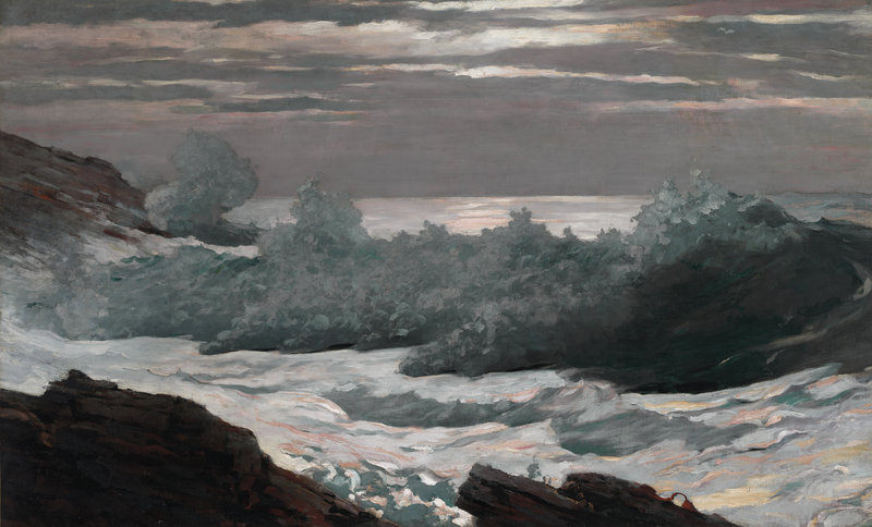 """Early Morning After a Storm at Sea,"" 1902"