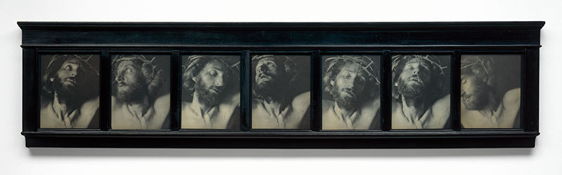 "F. Holland Day's ""The Seven Words,"" 1898, seven platinum prints in original frame."