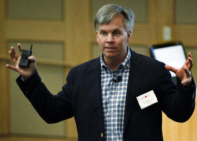 "J.C. Penney CEO Ron Johnson, shown in April, says running the show takes ""a lot of courage. You've got to be able to have a few arrows shot in your back."" Sales declined 20 percent through the recent quarter."