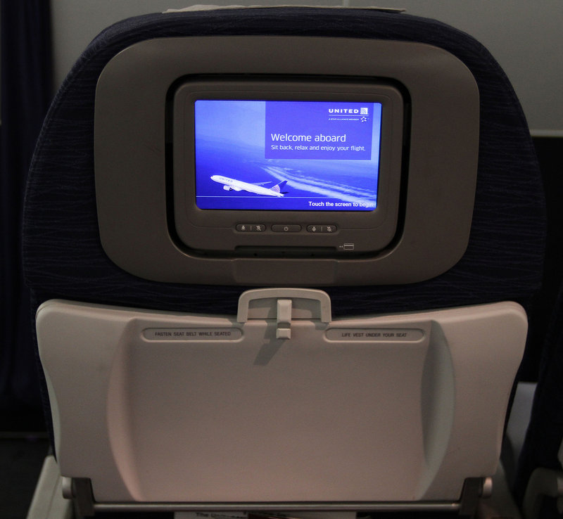 Seat-back monitors are becoming more common on new aircraft, but many airlines charge for on-demand movies and television.