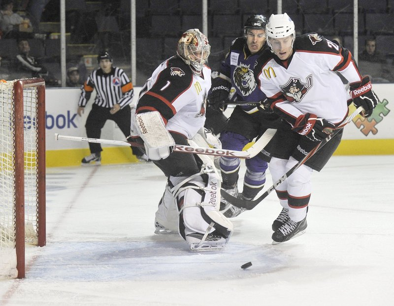 Michael Stone, a 22-year-old defenseman and a third-round pick in 2009, played 51 games for the Pirates and 13 games for the Phoenix Coyotes last season. He will join 10 former first- or second-round picks on the Pirates' training camp roster.