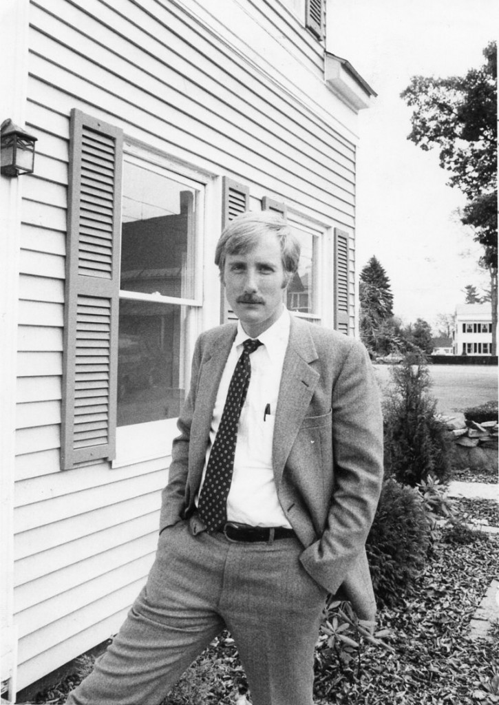 CIRCA 1980: Early in his career, King settled in Topsham and was a lawyer in Brunswick.