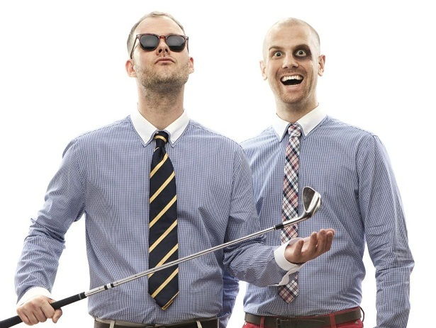 The Swedish electro-house duo Dada Life performs at the State Theatre in Portland on Sunday.