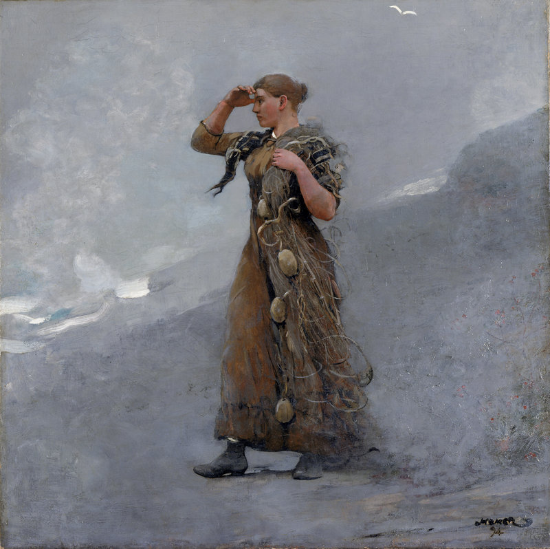 """The Fisher Girl,"" 1894"